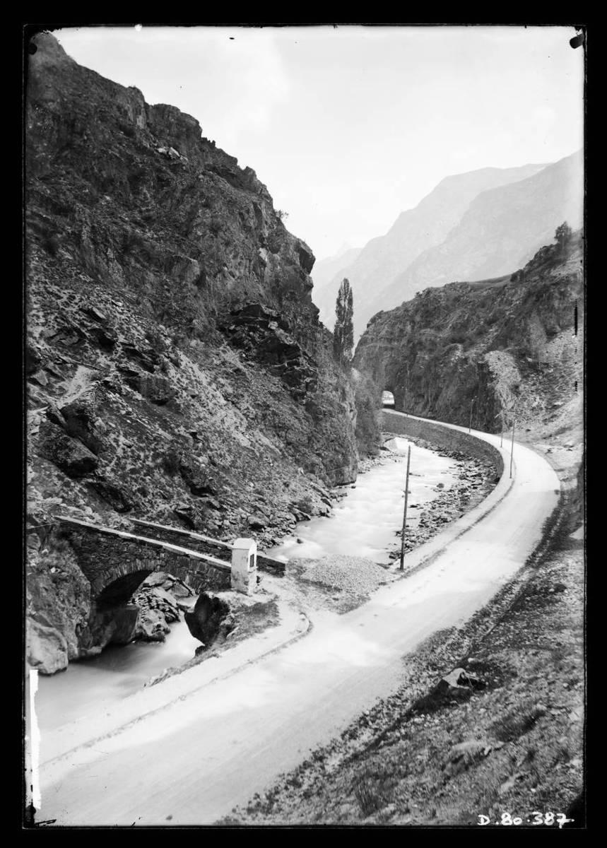 Pont Ségur et verrou de Mizoën Photographie