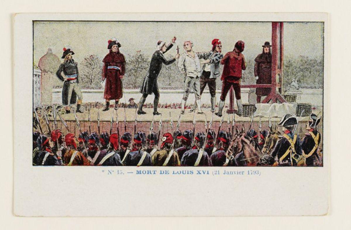 Mort de Louis XVI Arts graphiques