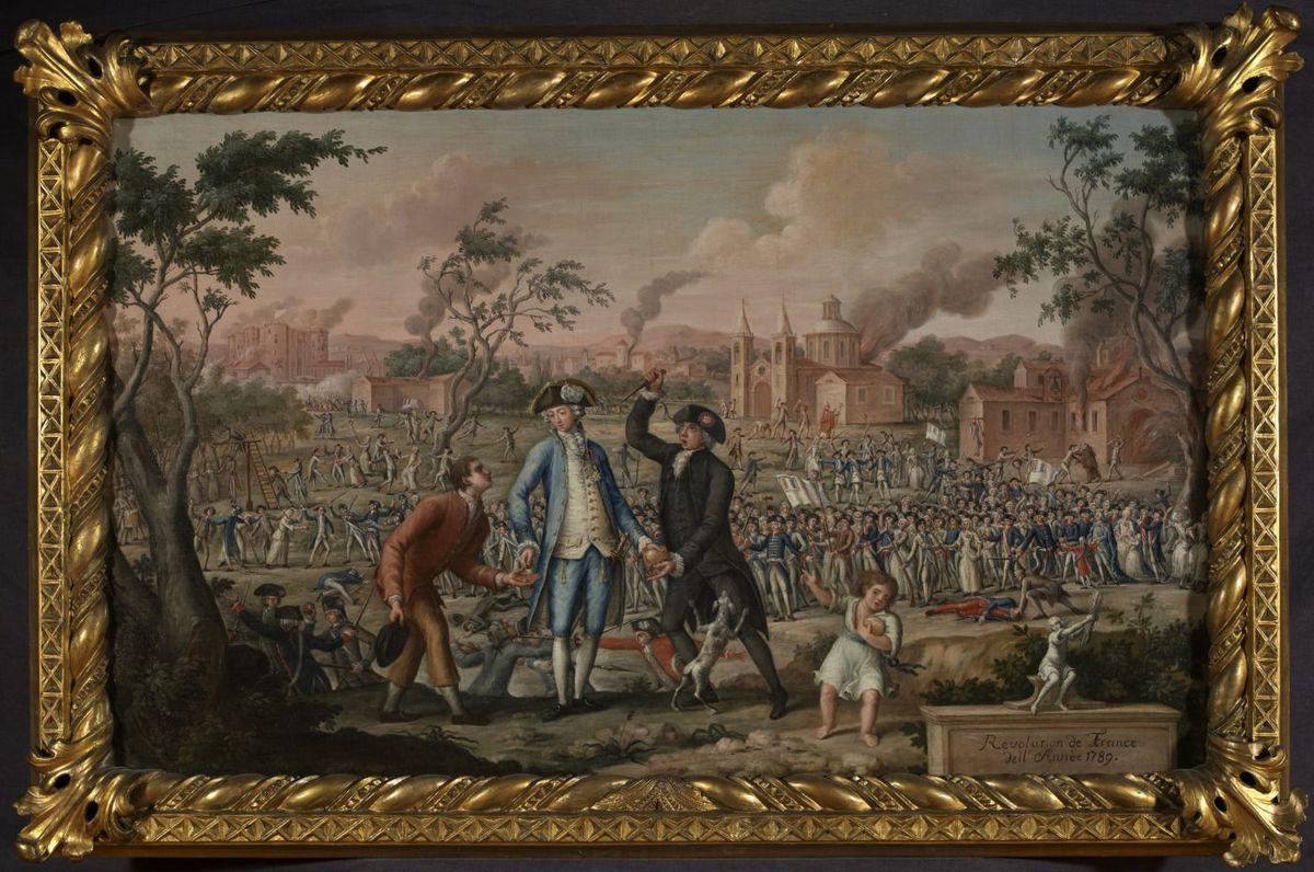 Révolution de France dell'Année 1789 Peinture