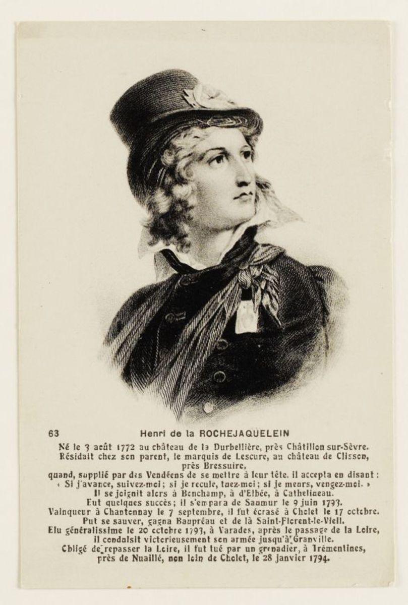 Henri de la Rochejaquelein Arts graphiques