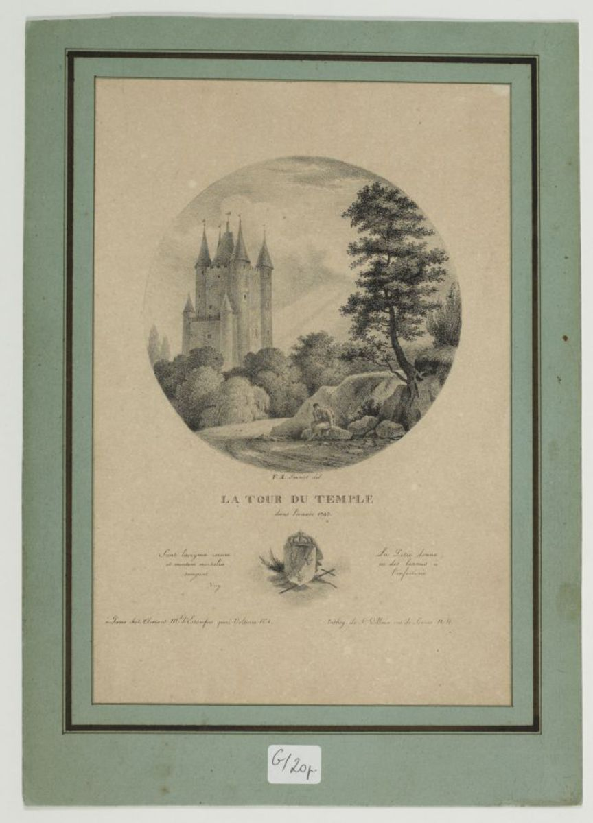La tour du Temple Estampe
