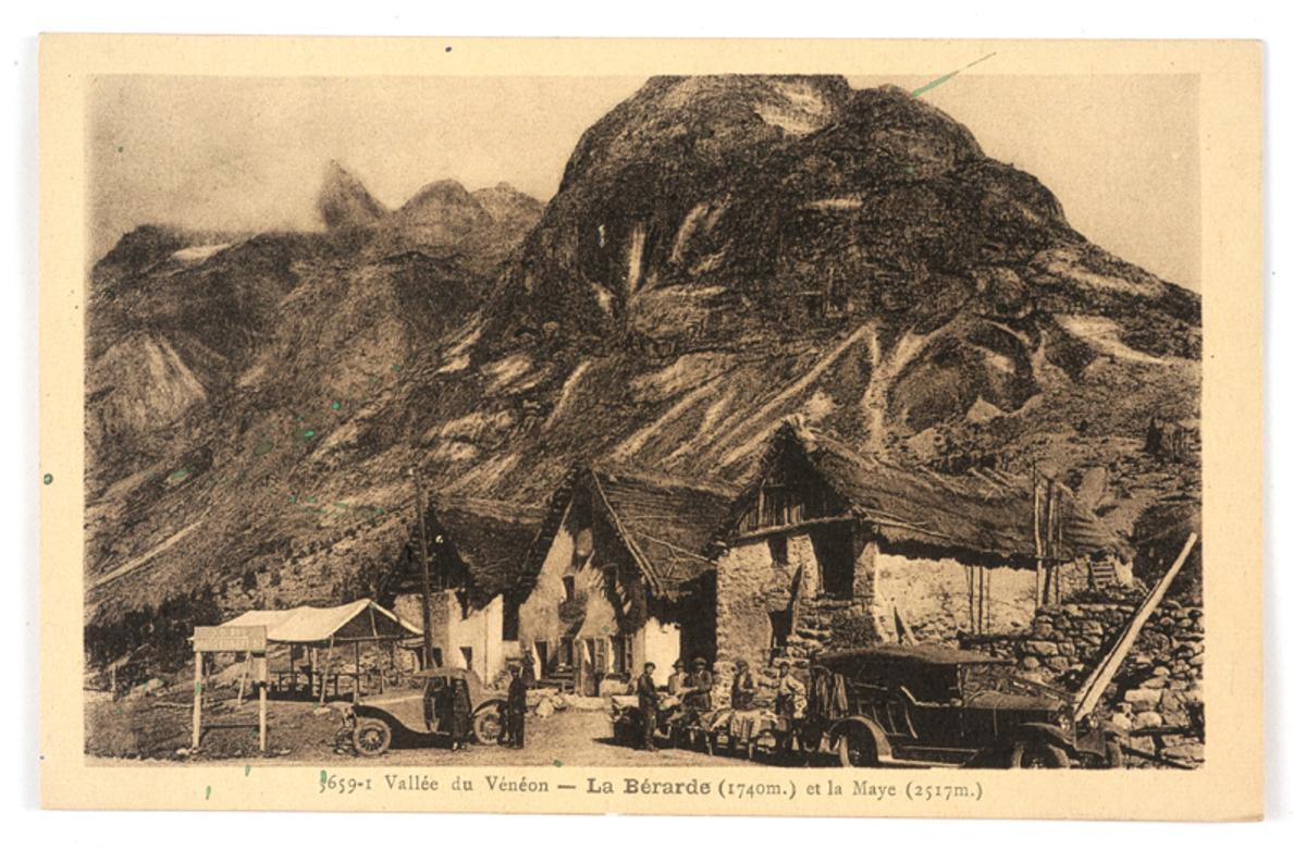 La Bérarde Carte postale 11 août 1939