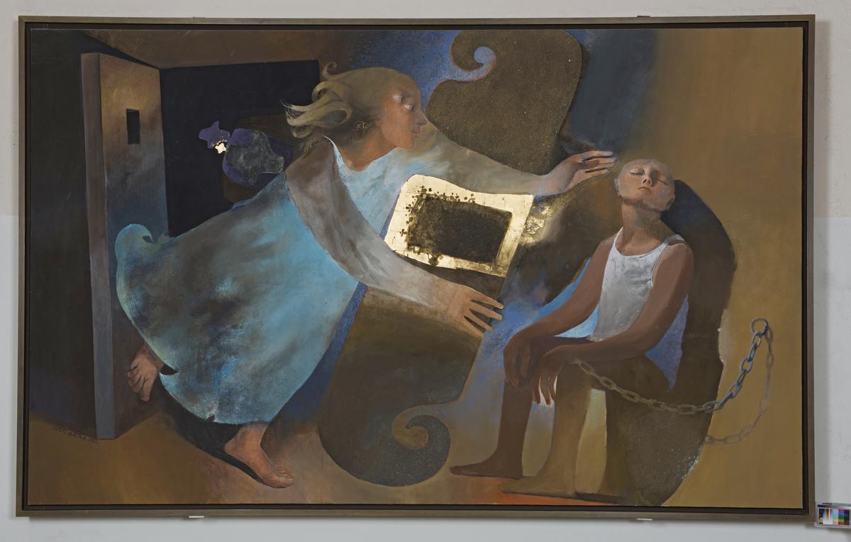 Libération de l'apôtre Pierre Peinture 1982