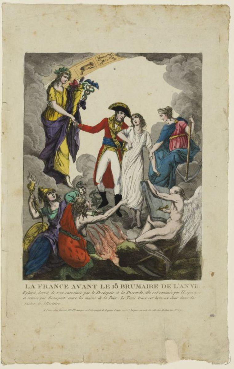 La France avant le 18 brumaire de l'an VIII Estampe