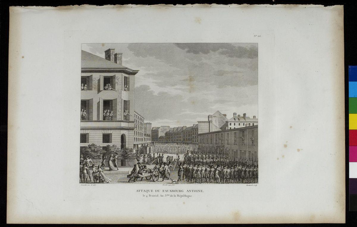 Attaque du Faubourg Antoine, le 23 mai 1795 Arts graphiques