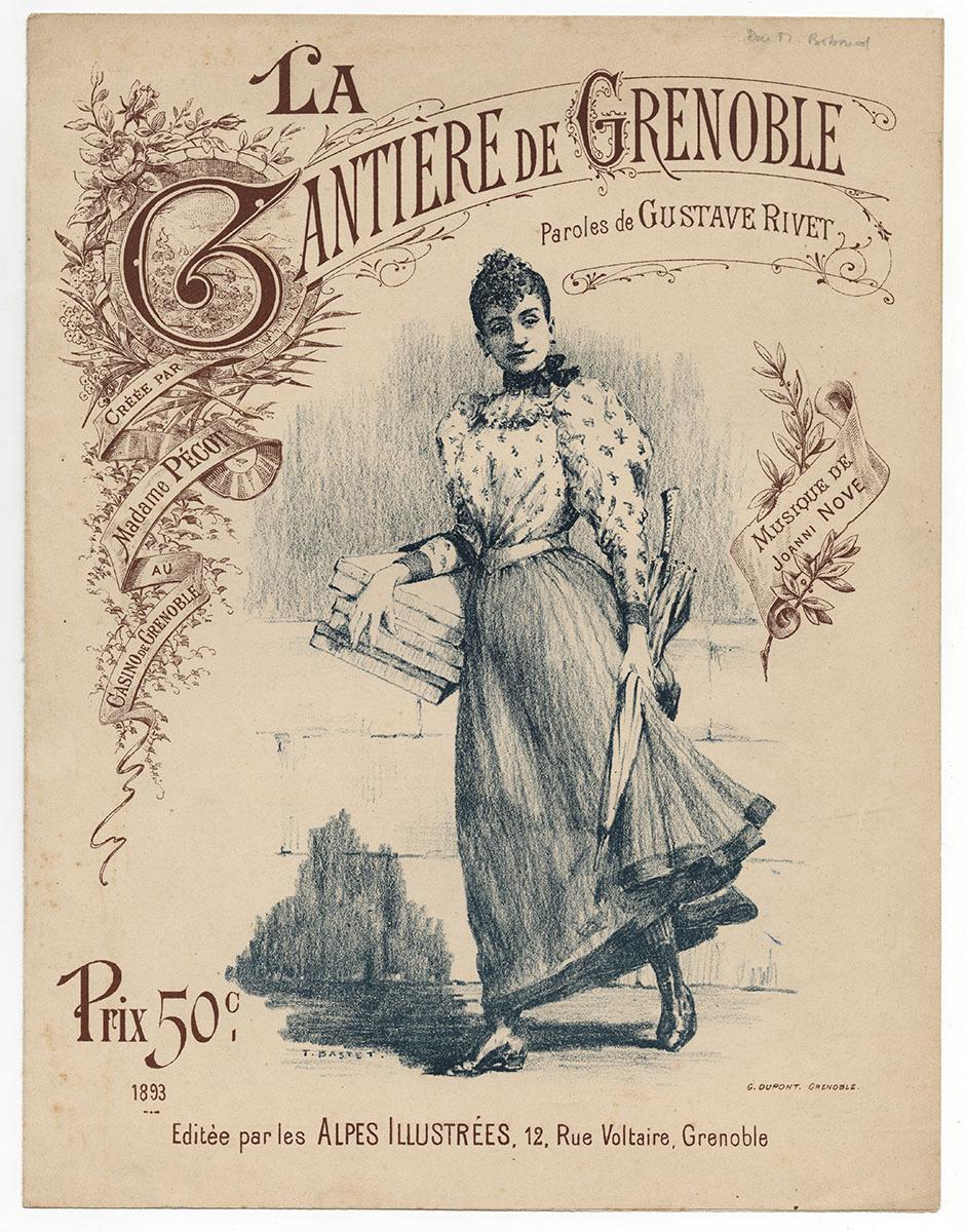 La gantière de Grenoble Musique 1893