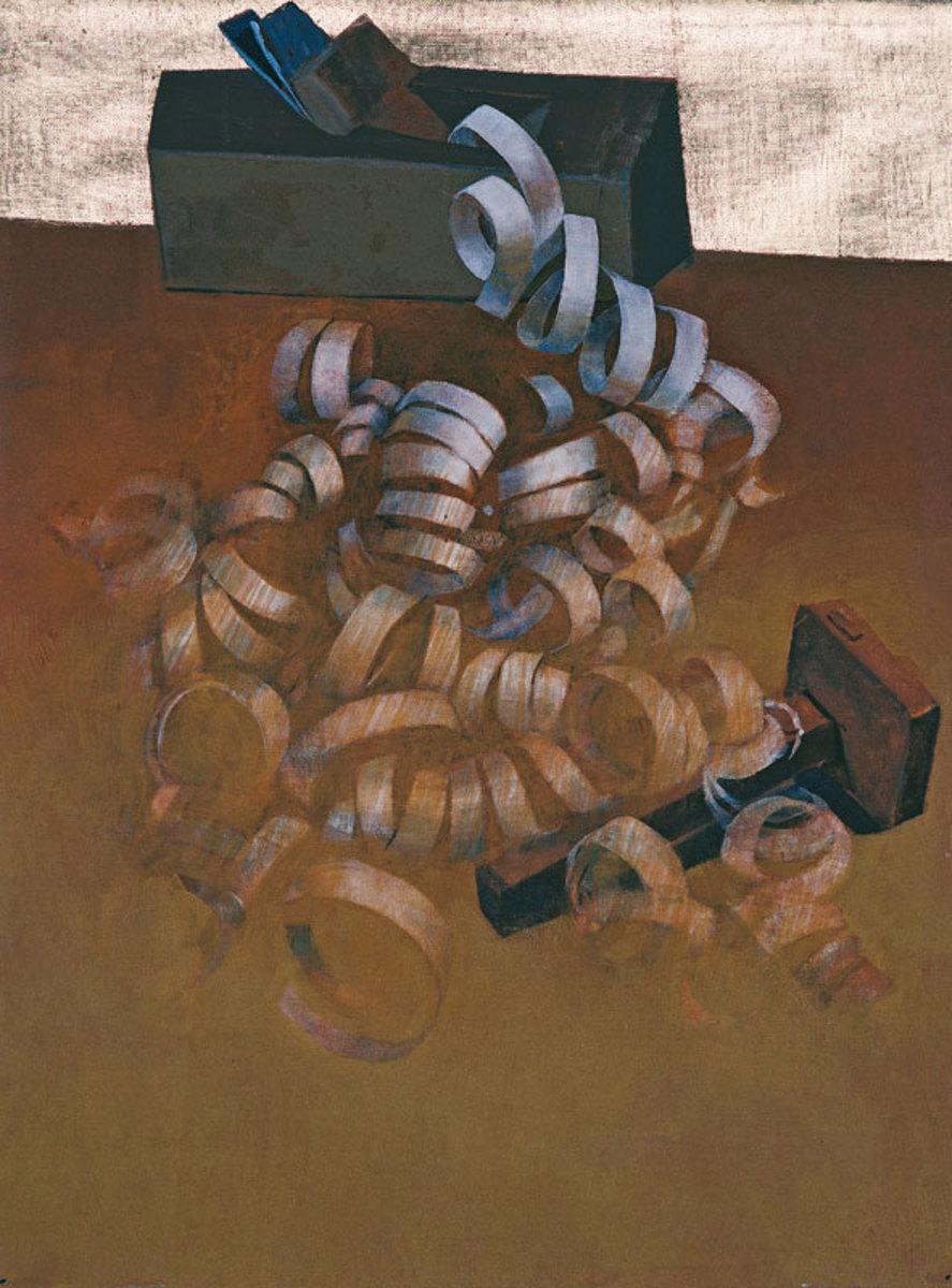 Le Rabot de Joseph Charpentier Peinture 1985