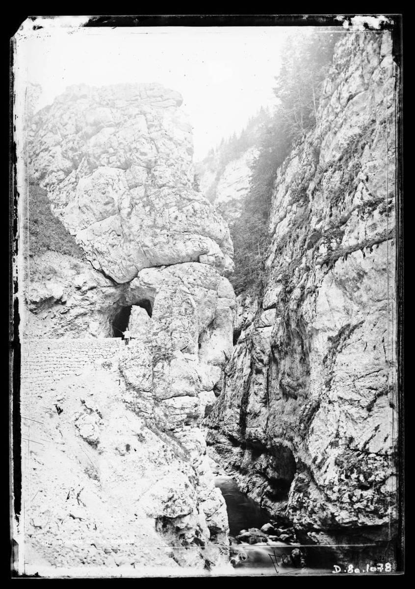 Gorges de la Bourne : un pont Photographie
