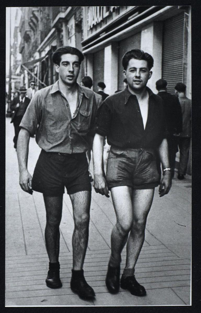 Jean Lecutiez avec Raymond Espagnac Photographie