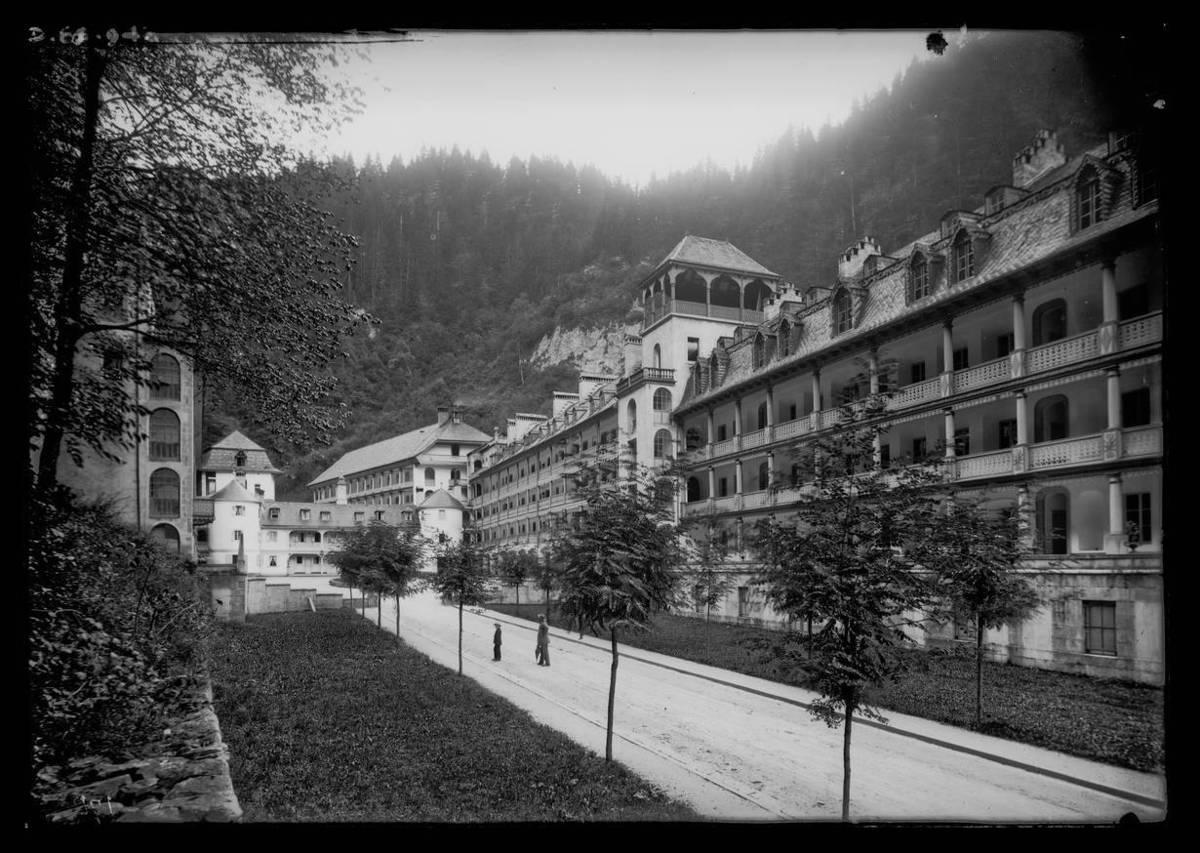 Saint Gervais : les bains Photographie