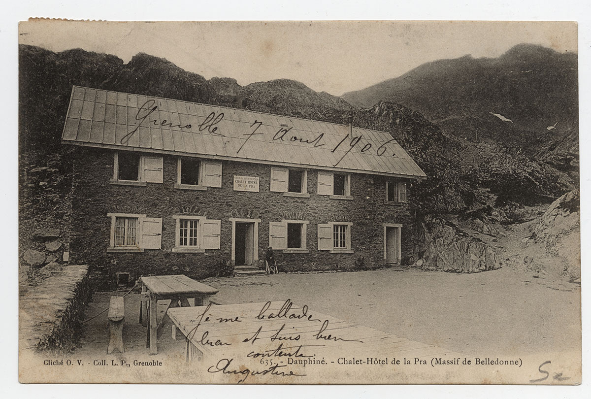 Chalet-hôtel de La Pra Carte postale