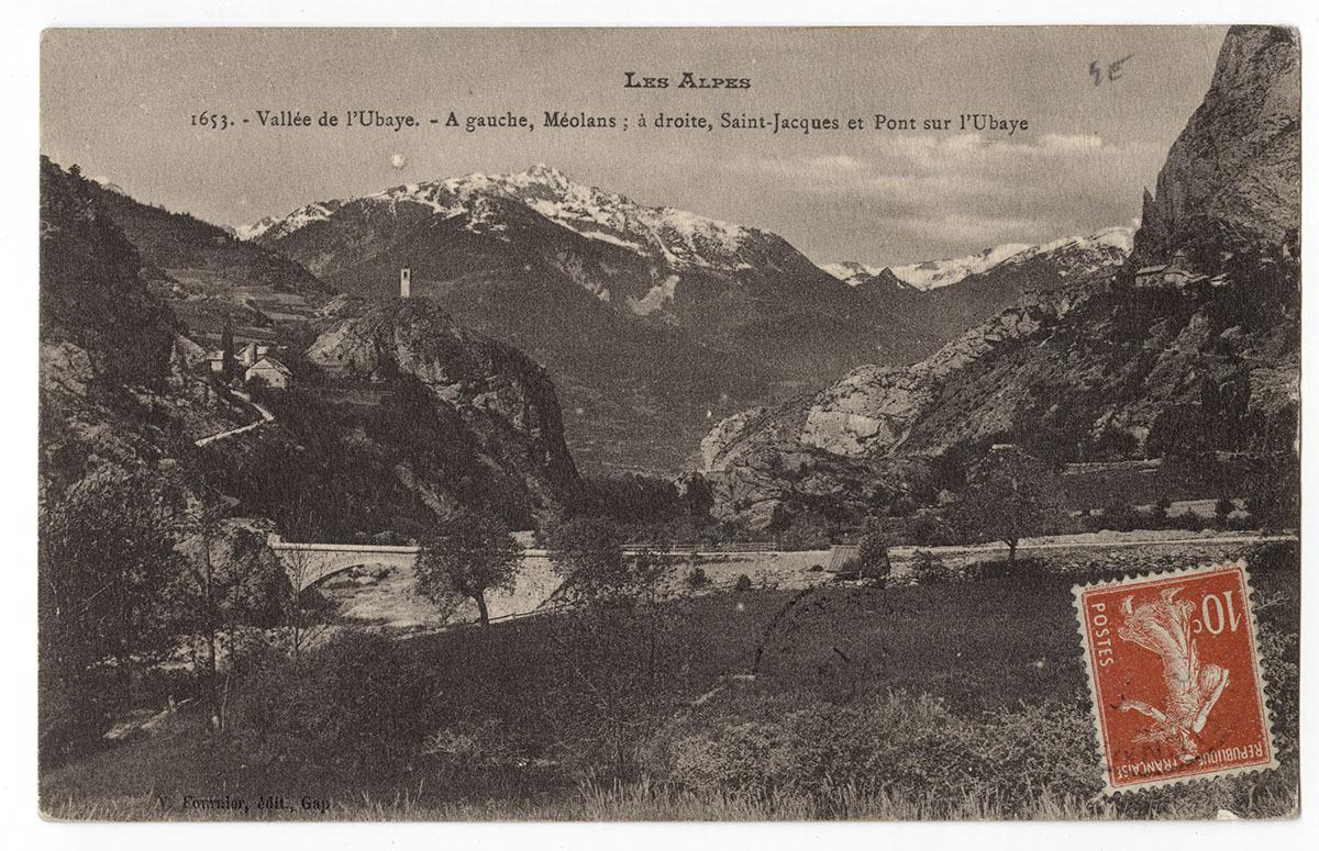 Vallée de l'Ubaye Carte postale