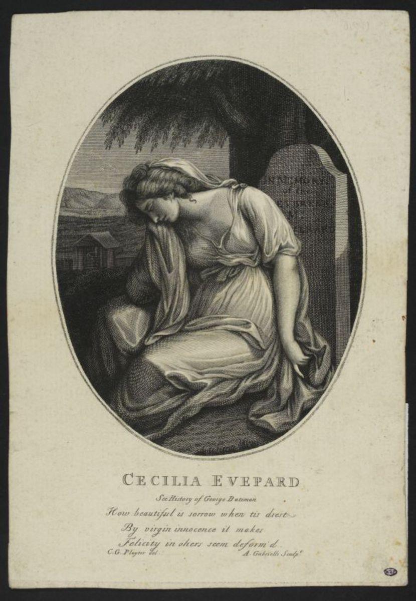 Cecilia Evepard Estampe