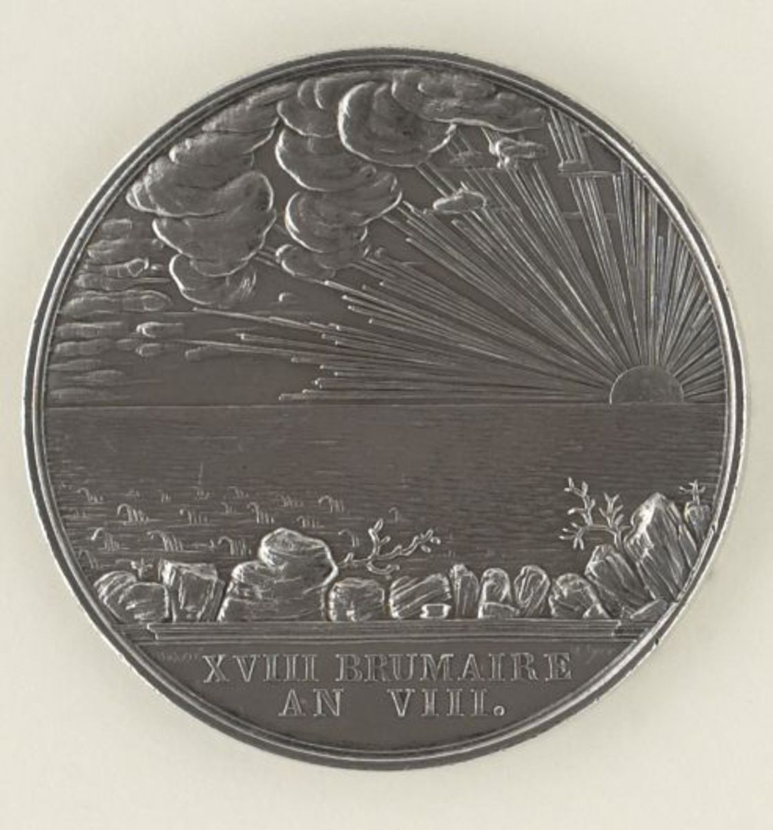 Médaille - Aux citoyens du Gard morts pour la patrie. numismatique