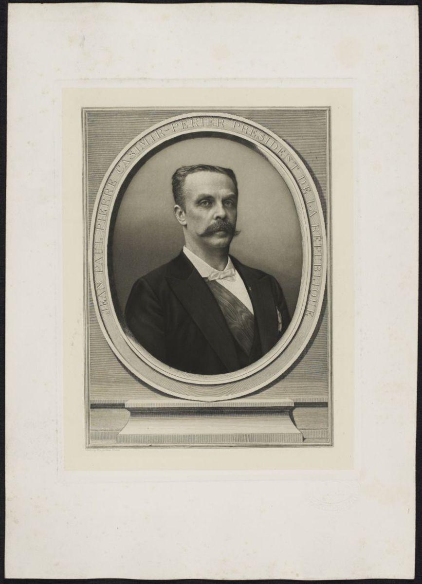 Jean-Paul Pierre Casimir-Perier Estampe