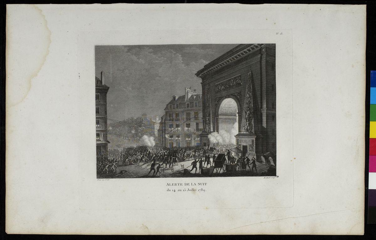Alerte de la nuit du 14 au 15 juillet 1789 Arts graphiques