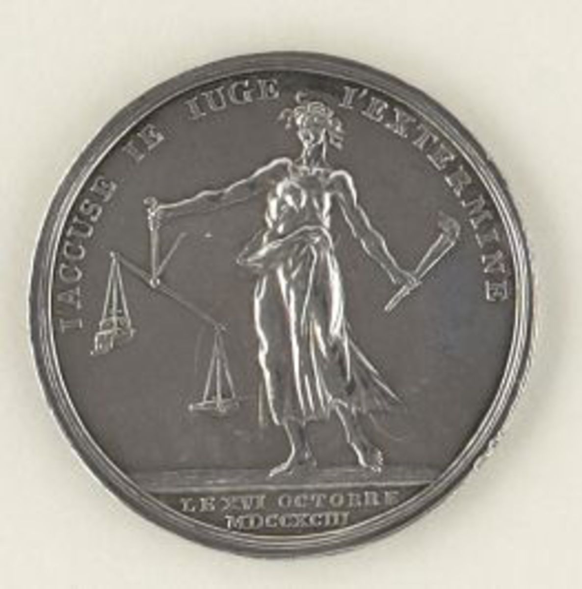 Médaille Marie-Antoinette. numismatique