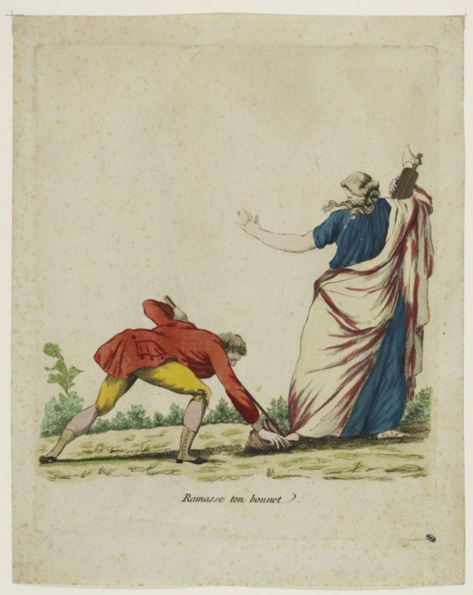 """Ramasse ton bonnet"" Estampe"