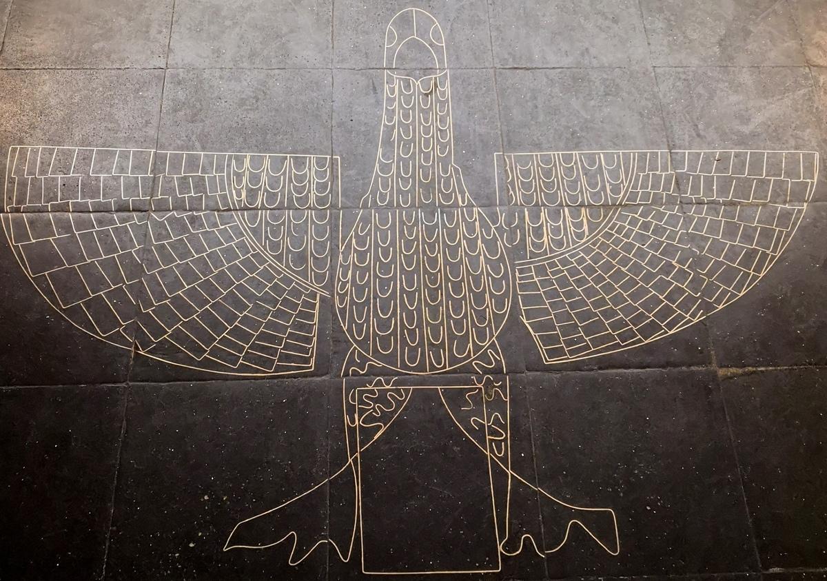 Tétramorphe Aigle Saint-Jean Sculpture 1952