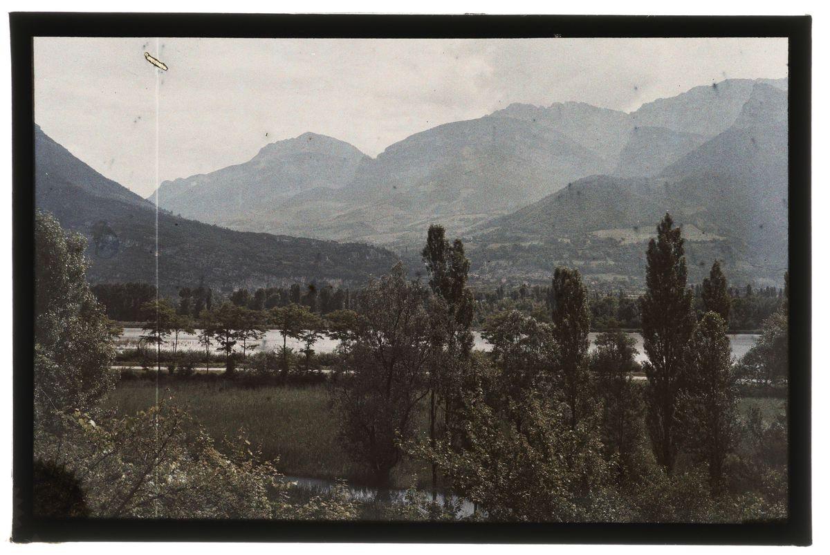 Voreppe et la Grande Sure Photographie 7 avril 1926, 1926/04