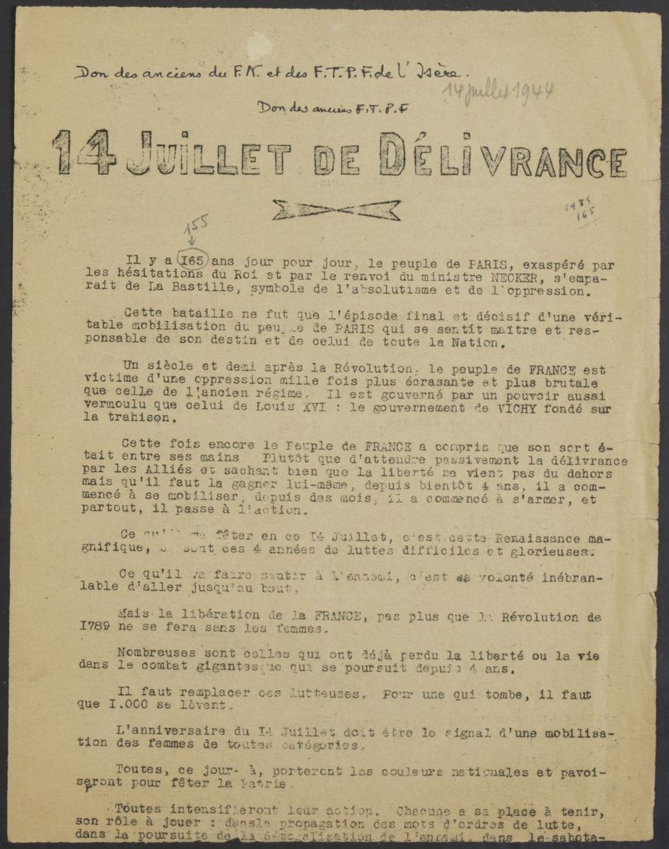 Tract Juillet 1944