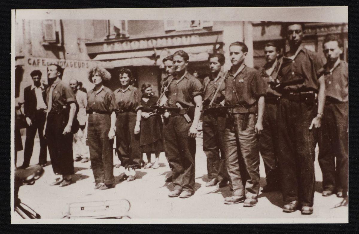 Défilé du 14 juillet 1944 Photographie 14 juillet 1944