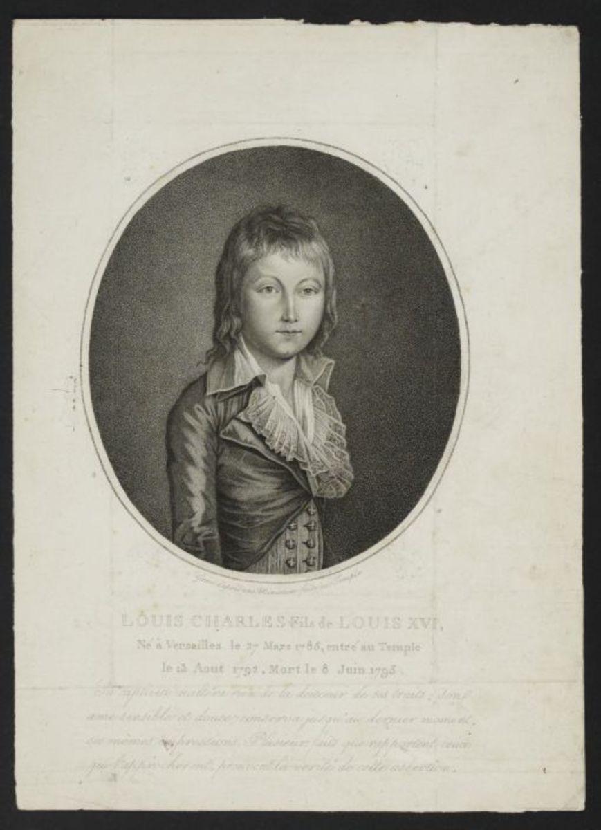 Louis Charles, fils de Louis XVI Estampe