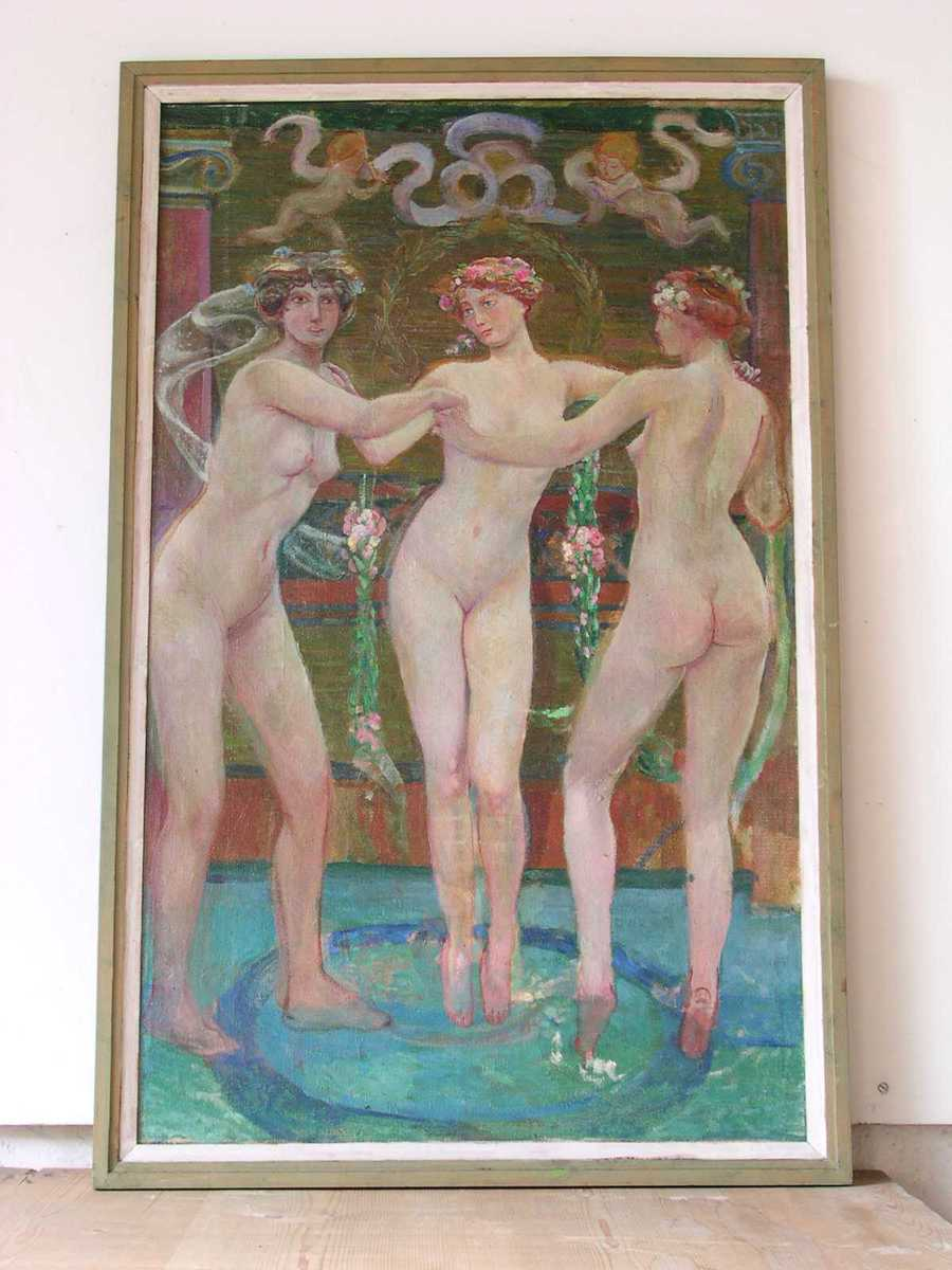 Les trois Grâces Peinture