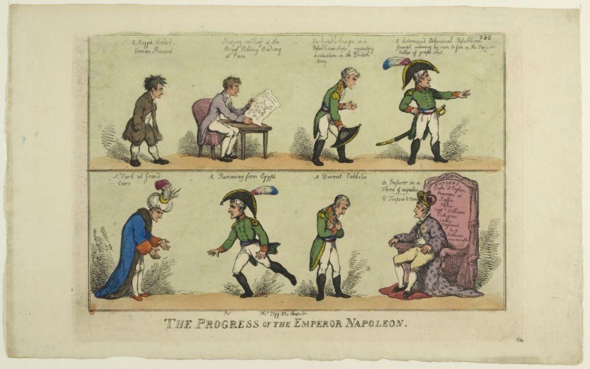 The Progress of the Emperor Napoleon Estampe