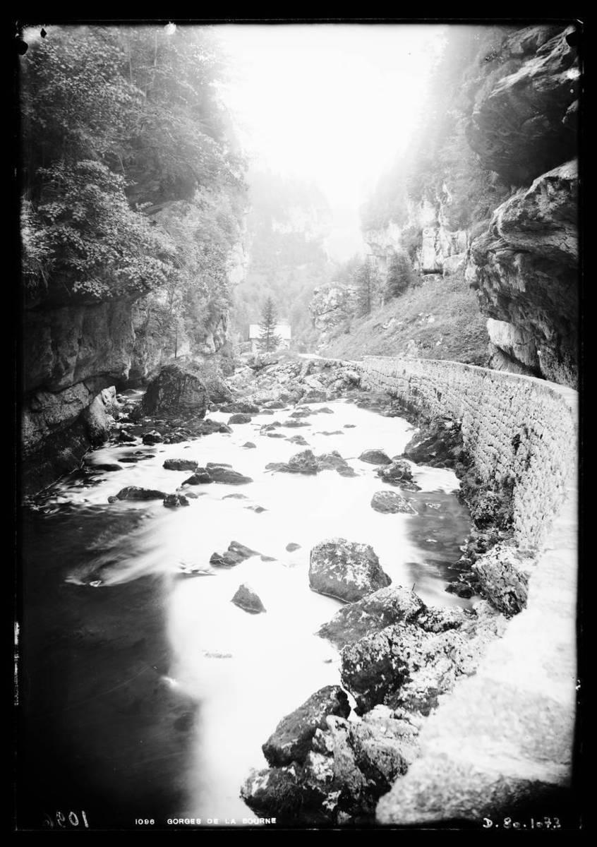 Gorges de la Bourne Photographie 1900
