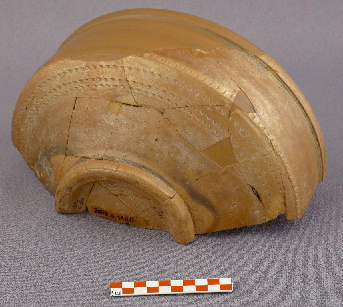 archéologie ; céramique fin IIIe-milieu Ve s.