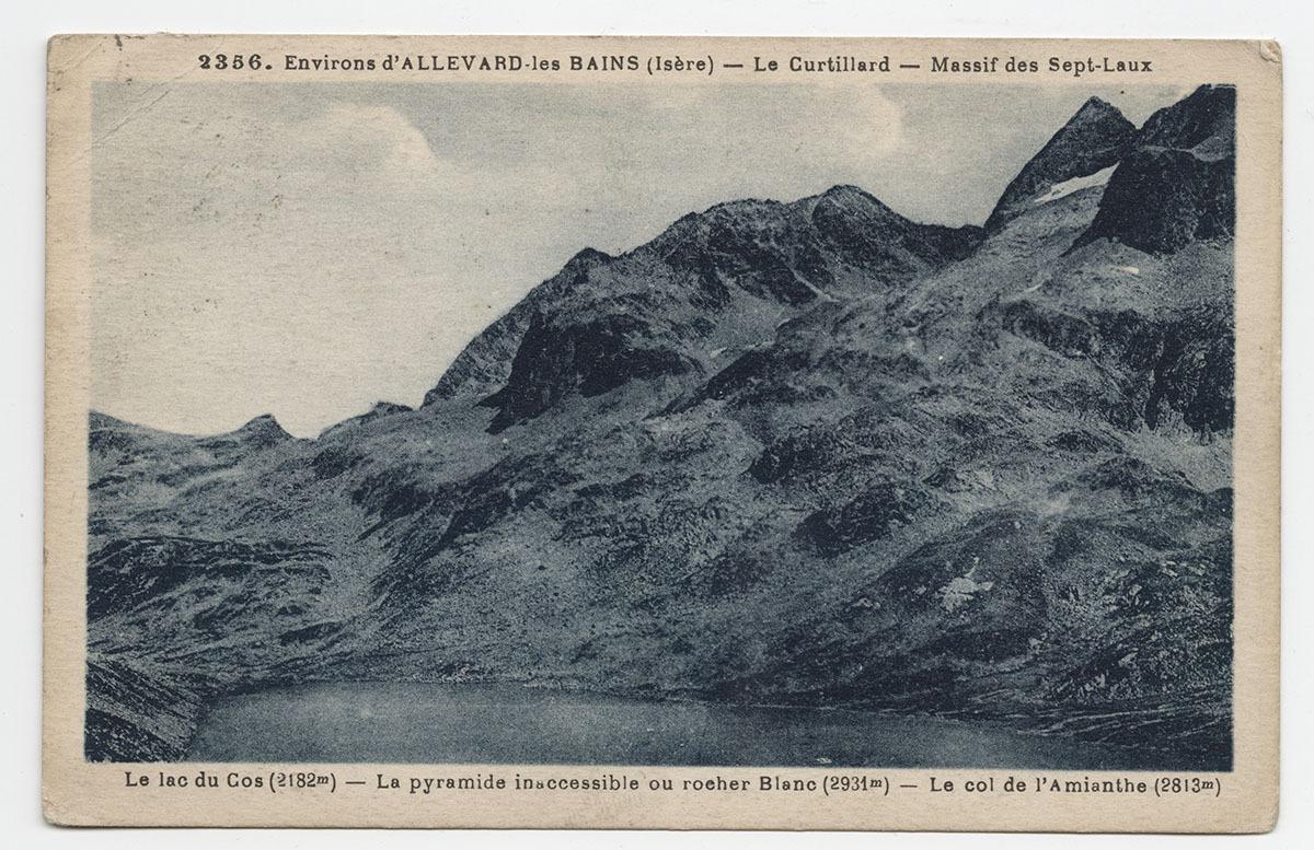 Lac du Cos Carte postale
