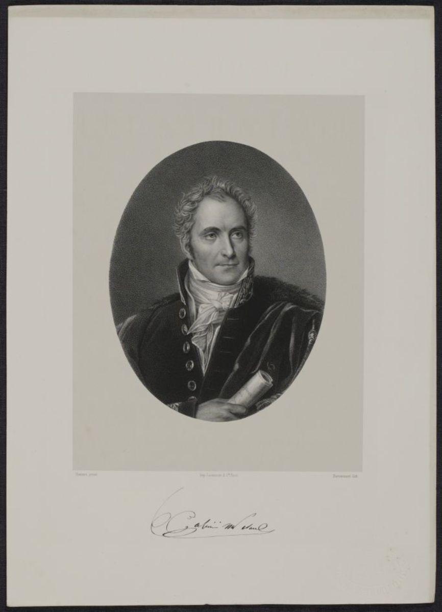 Casimir Perier. Panthéon des illustrations françaises au XIXe siécle publié sous la direction de Victor Frond Estampe