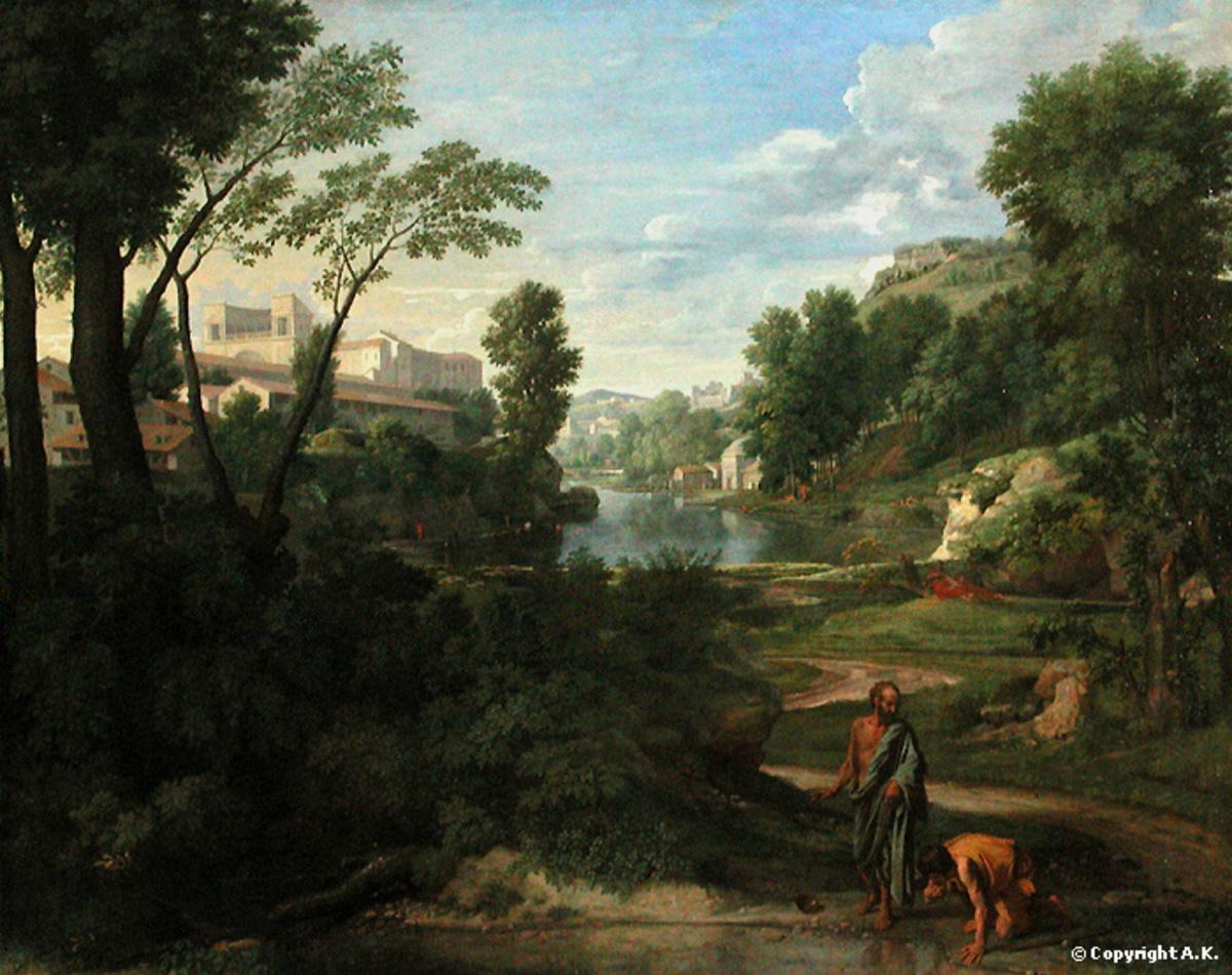 Diogène rejetant son écuelle Arts graphiques