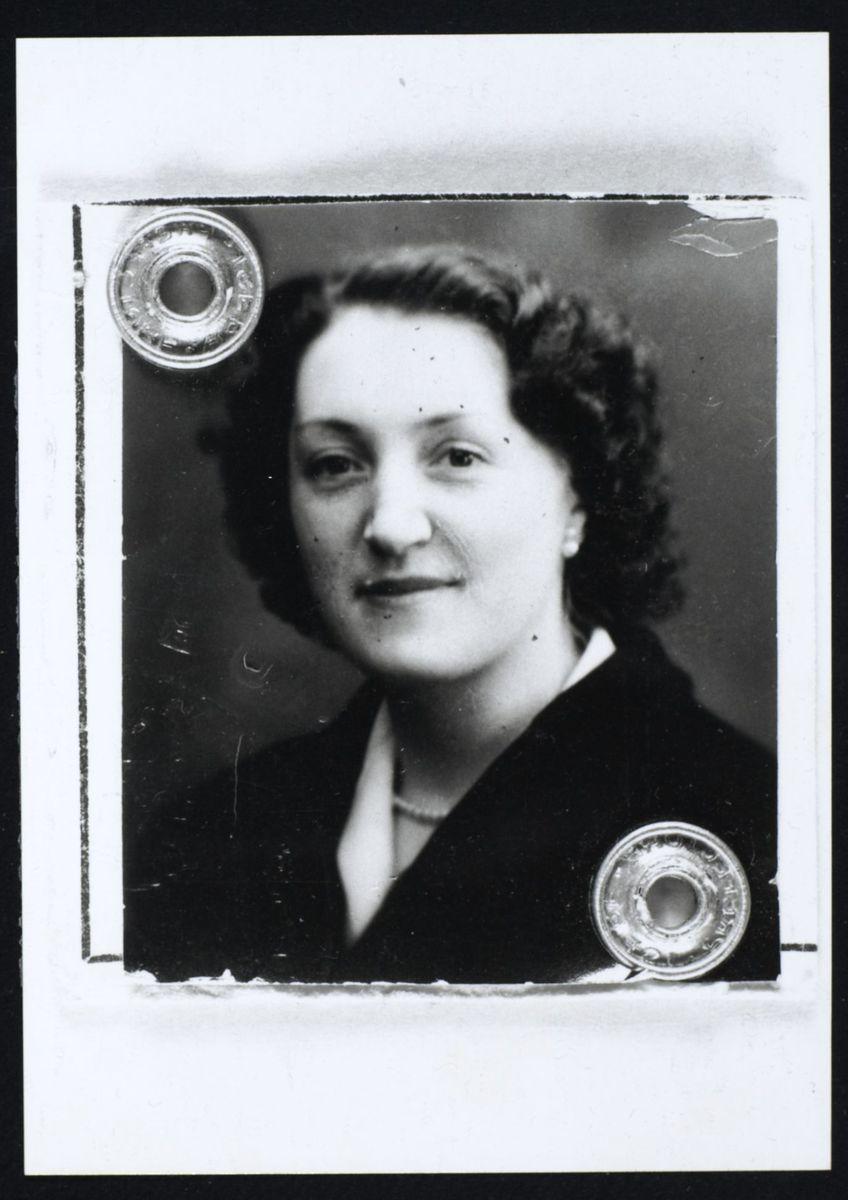 Mireille Lahad Malterre, 1951 Photographie 1951