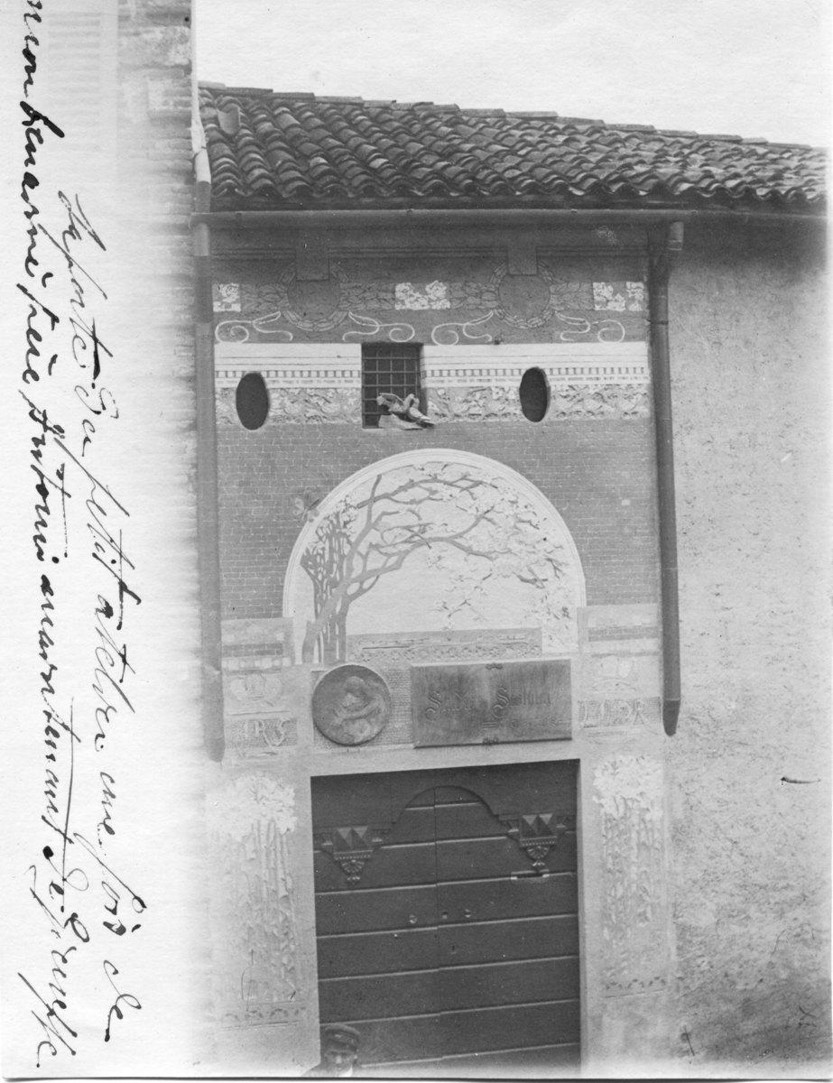 Porte de l'atelier de Chiattone Photographie