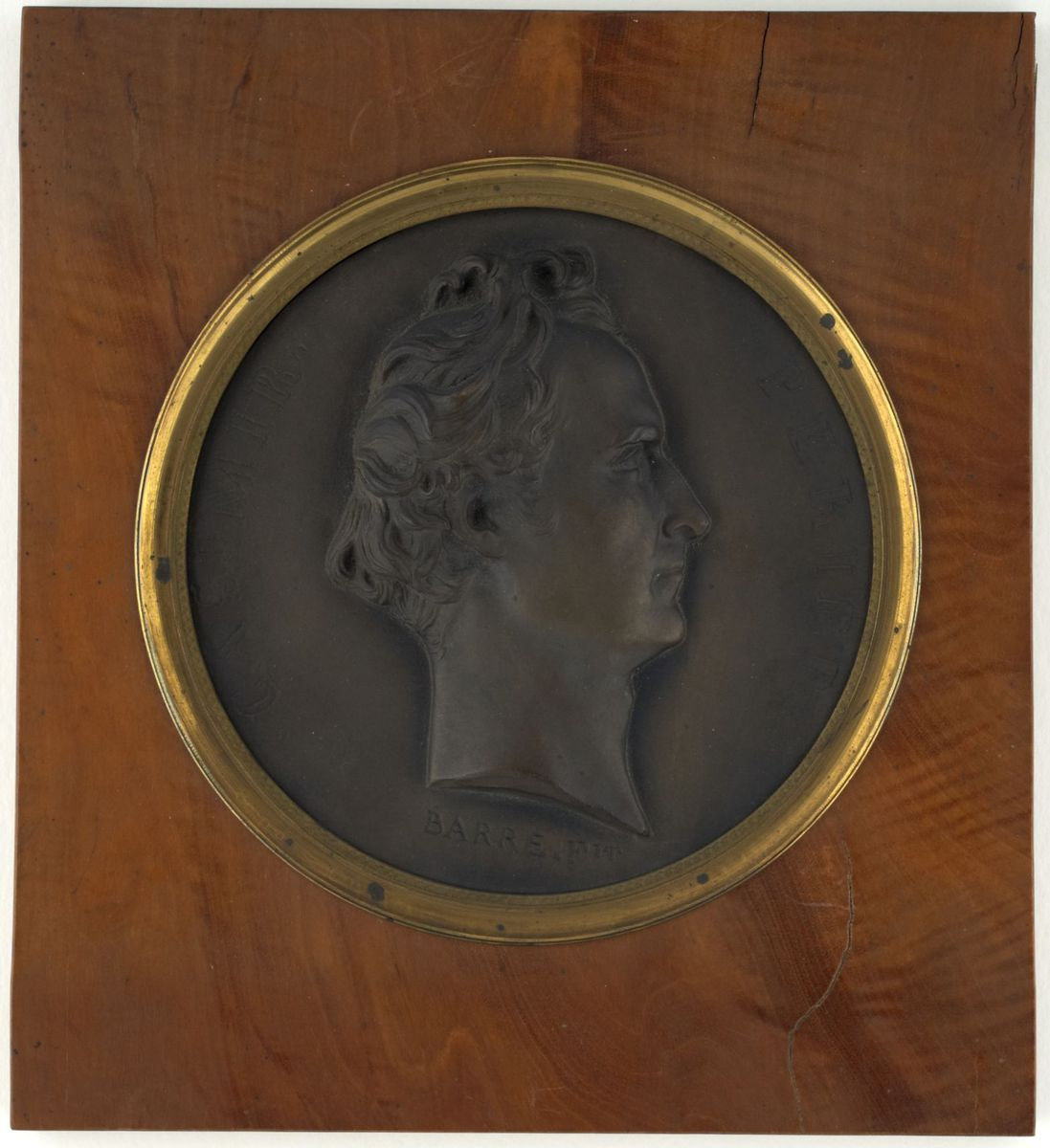 Casimir Perier (1777-1832) Sculpture ; Médaillon