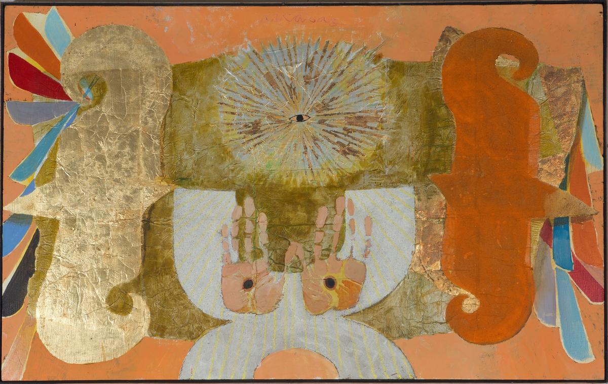 Ange aux mains percées Peinture 1972