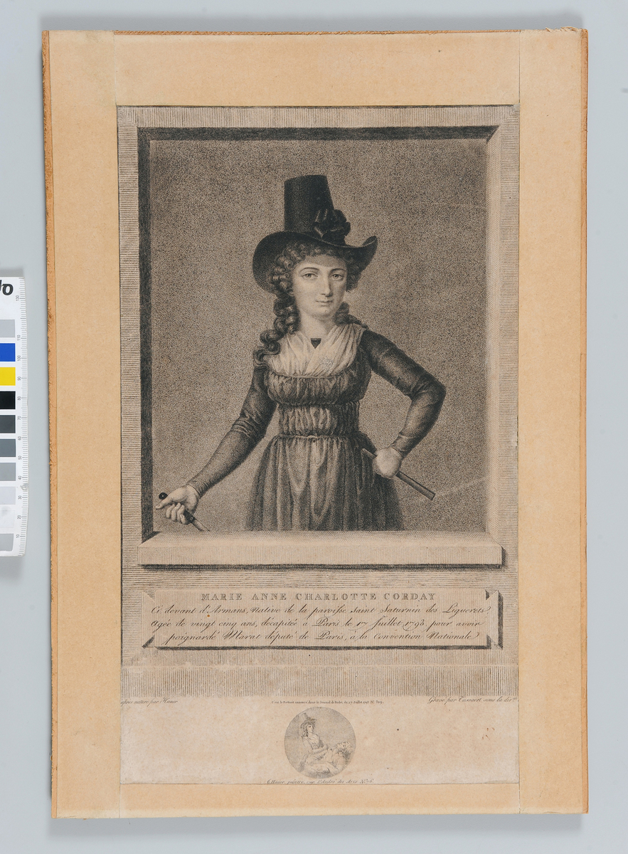 Marie-Anne Charlotte Corday Arts graphiques