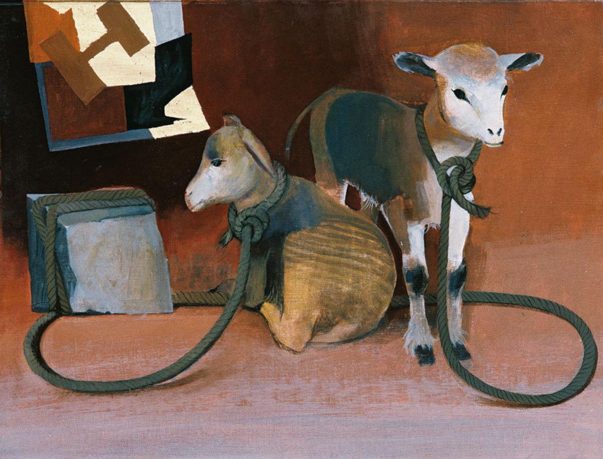 Le Bon Pasteur Peinture 1986