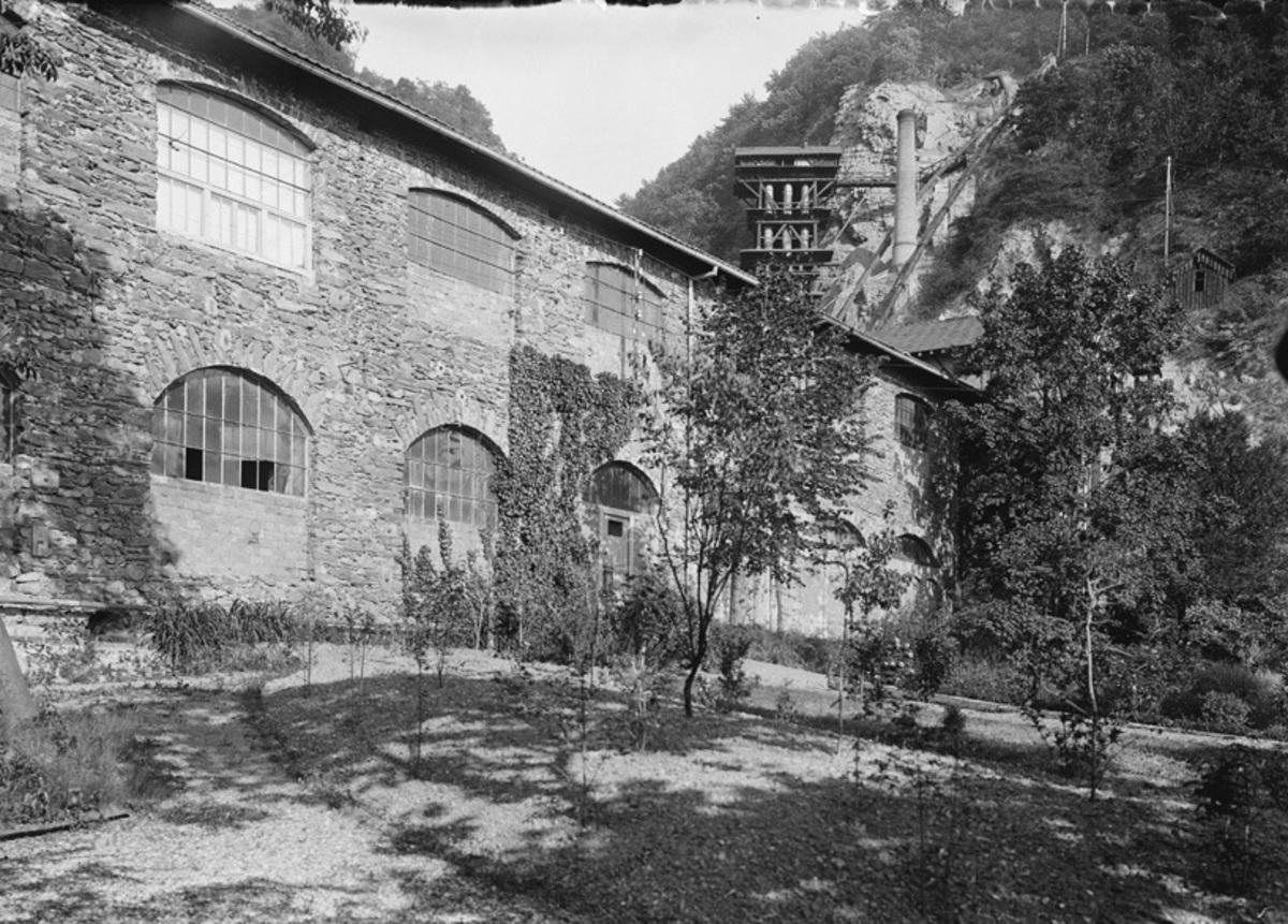 Jardin de la maison Bergès, côté usine Photographie