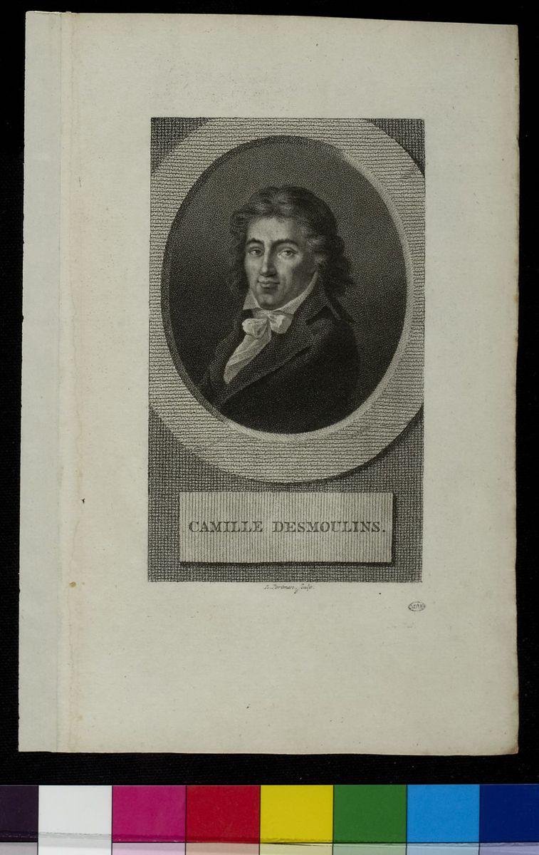 Camille DesmoulinsPortrait de Camille Desmoulins Arts graphiques