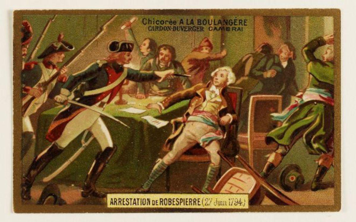 Arrestation de Robespierre (27 Juin 1794) Arts graphiques