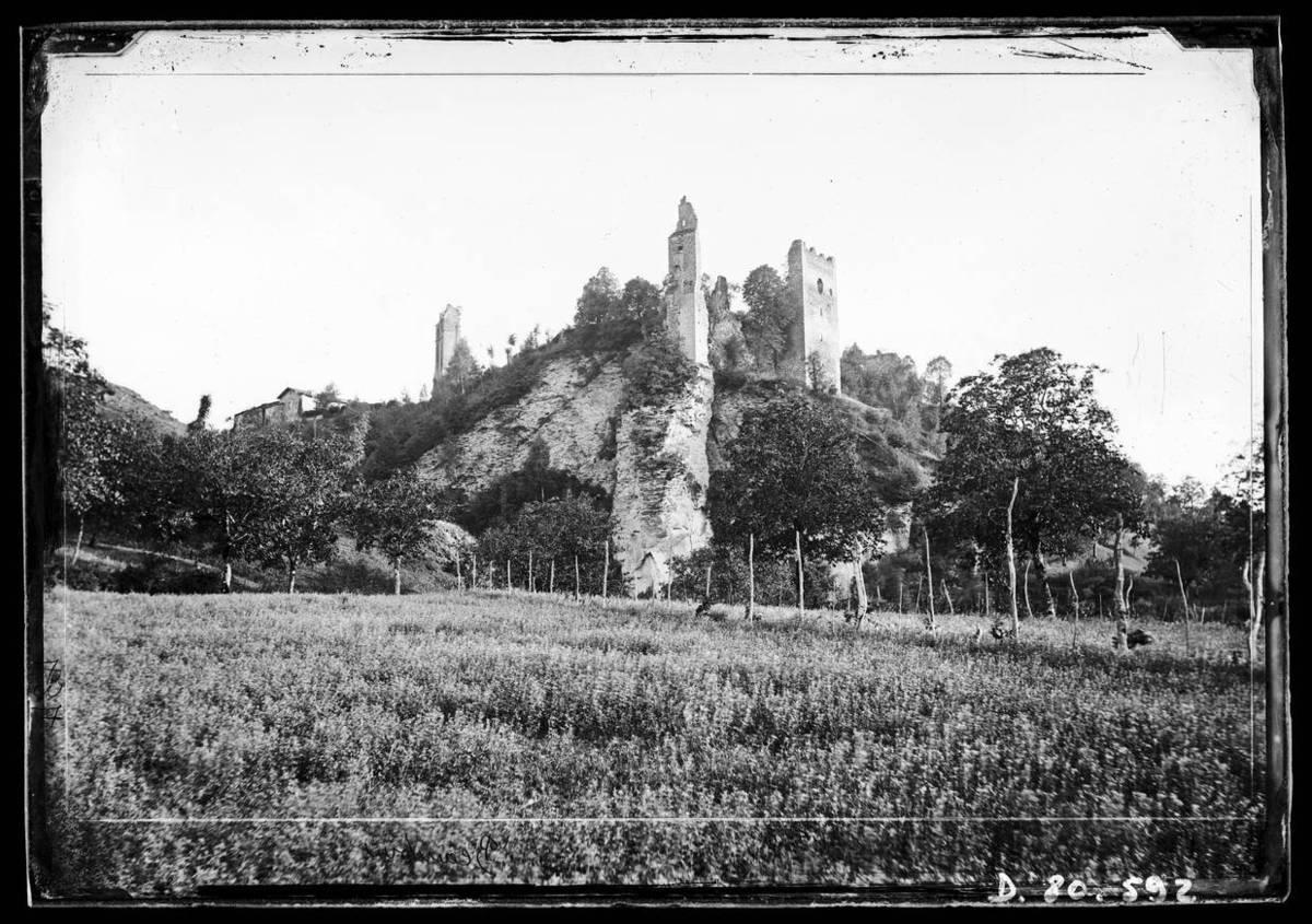 Ruines du château de Beauvoir Photographie