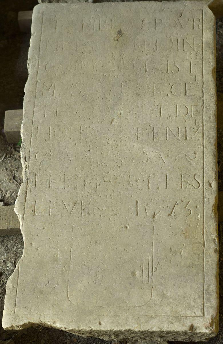 archéologie ; épigraphie 1673 moderne
