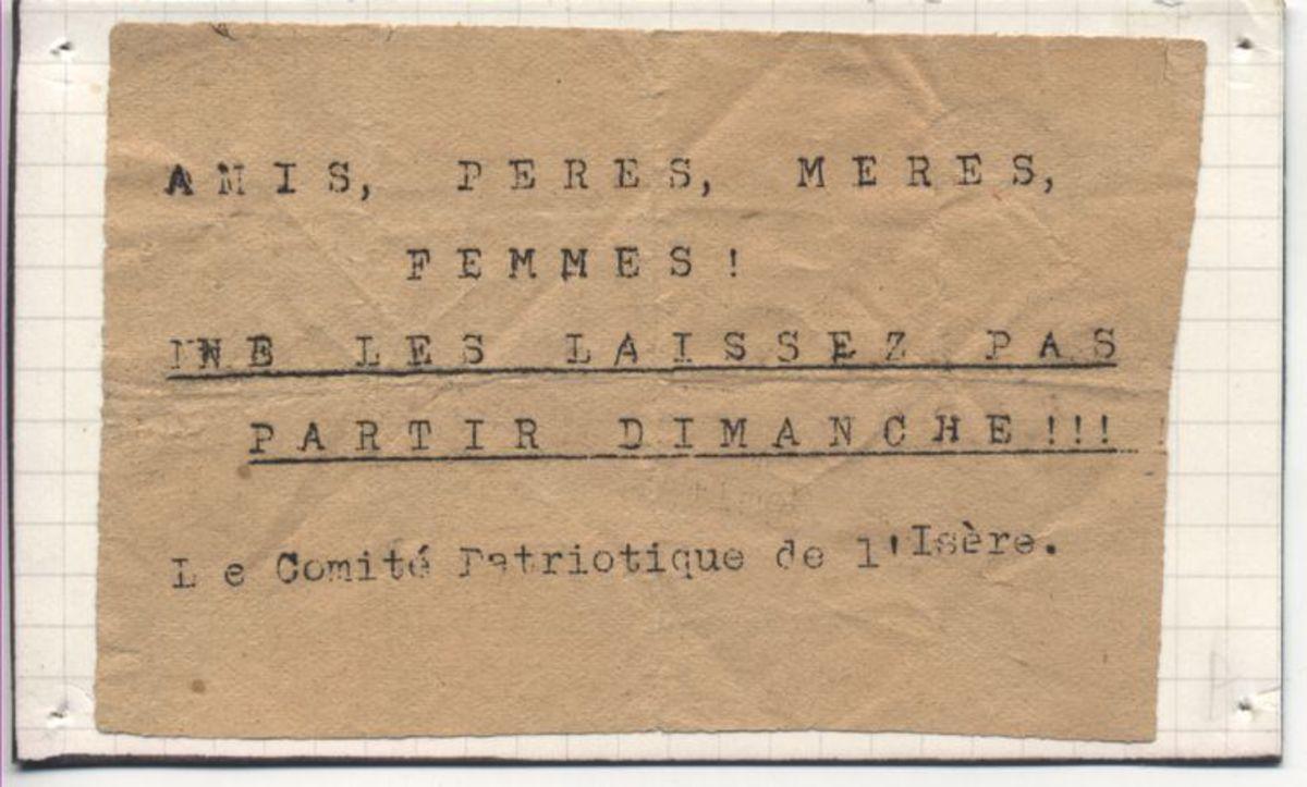 Ecrit 1943