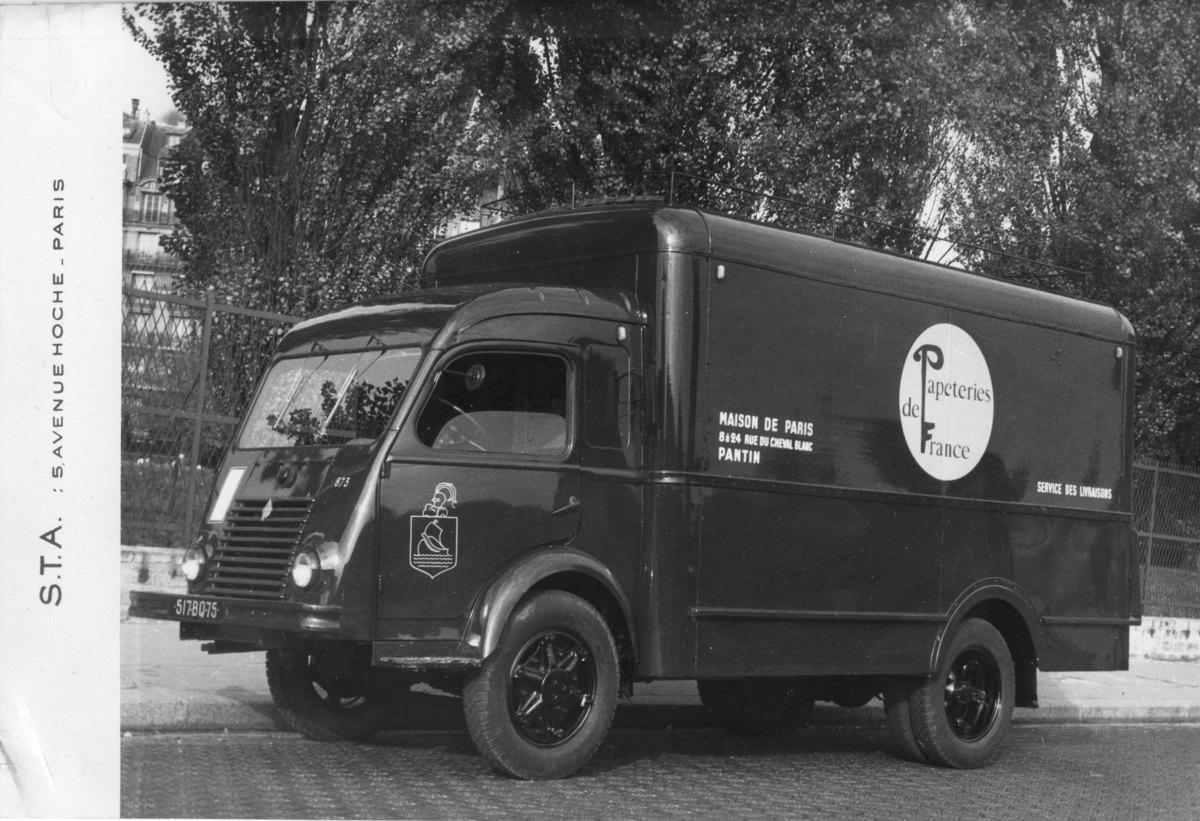 Maison de Paris ; camion Photographie