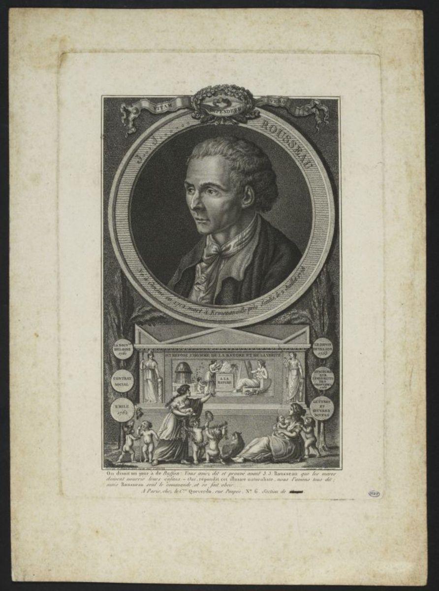 Jean-Jacques Rousseau Arts graphiques