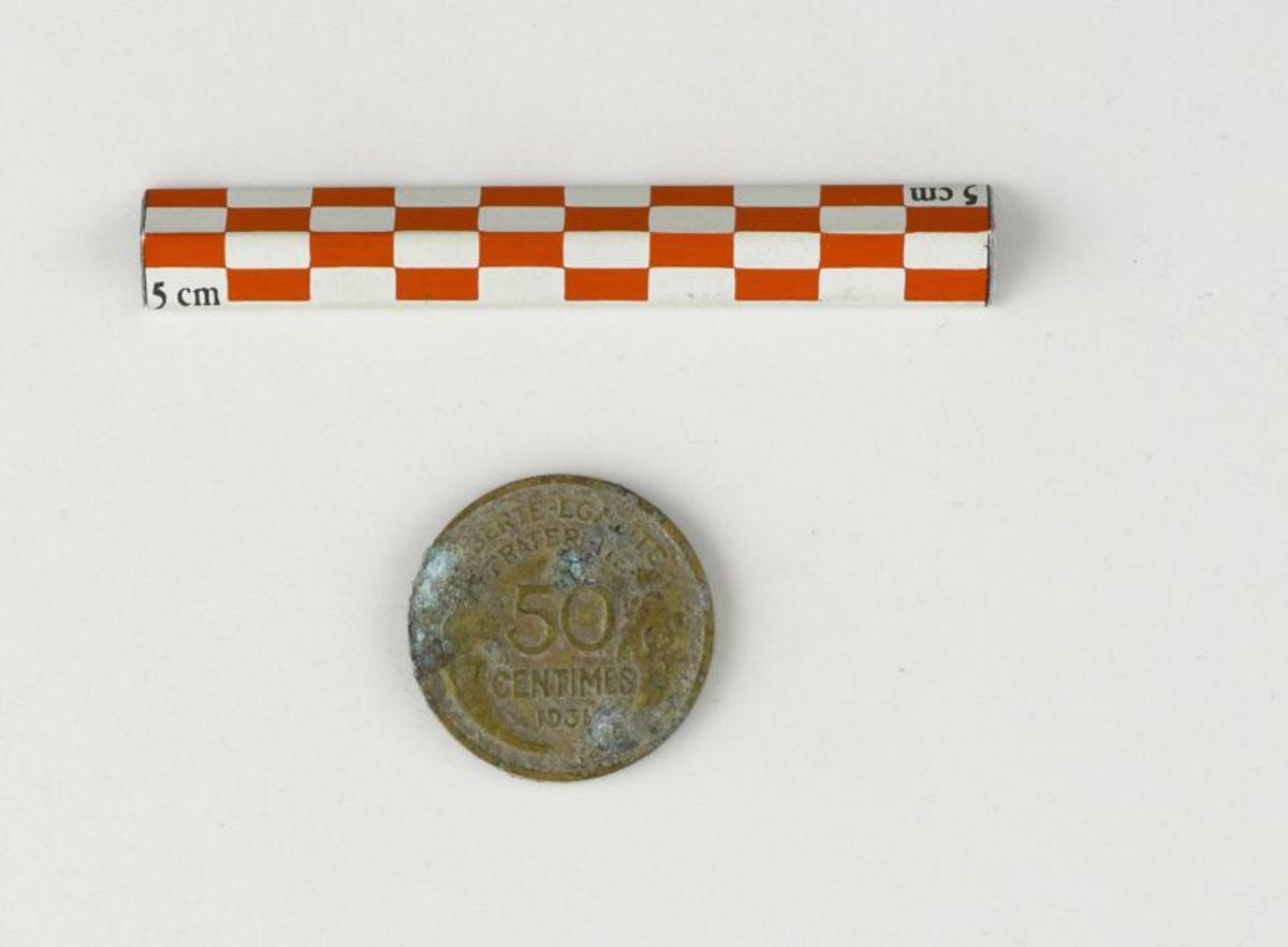 archéologie numismatique XXe s. 1931