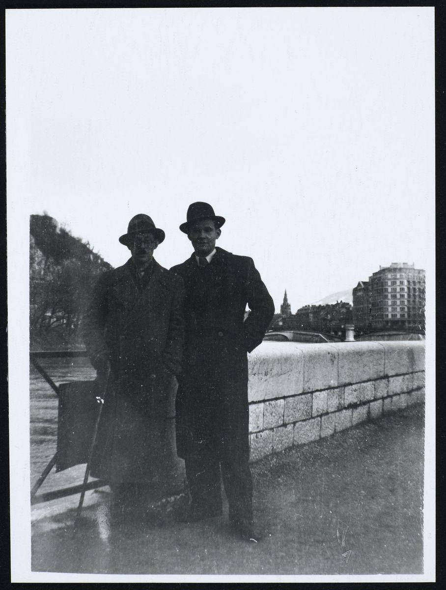 Roger Collomb et Jules Süssmann à Grenoble Photographie